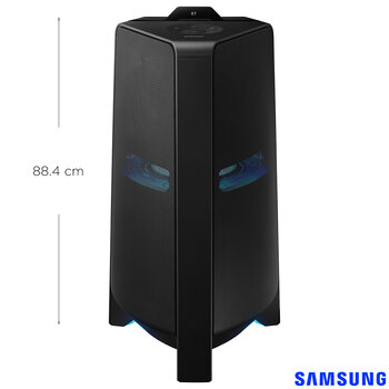 Samsung 1500W Giga Party Audio Megasound Speaker, Built in Woofer, Bi-Directional Sound with Karaoke Mode, MX-T70/XU