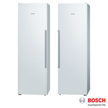 Bosch KSV36AW31G and GSN36AW31G Serie 6 Fridge Freezer Pair in White