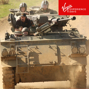 Virgin Experience Days Tank Driving Taster For 1 Person (17 Years +)