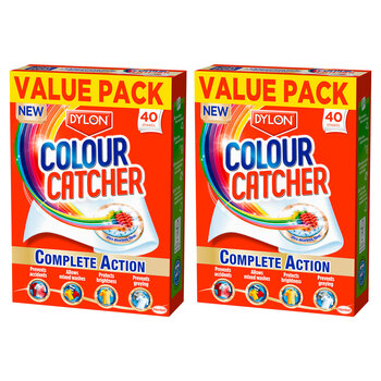 Dylon Colour Catcher, 2 x 40 Pack