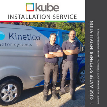 Kinetico Kube Water Softener Installation Package for one Water Softener