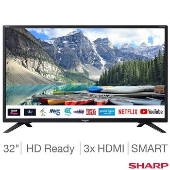 Sharp 1T-C32BC4KHF2B 32 Inch HD Ready Smart TV