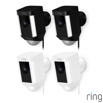Ring Plug-in Spotlight Cam in 2 Colours