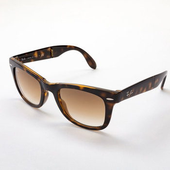 Ray-Ban Tortoise Shell Sunglasses with Brown Lenses, RB4105 710/51