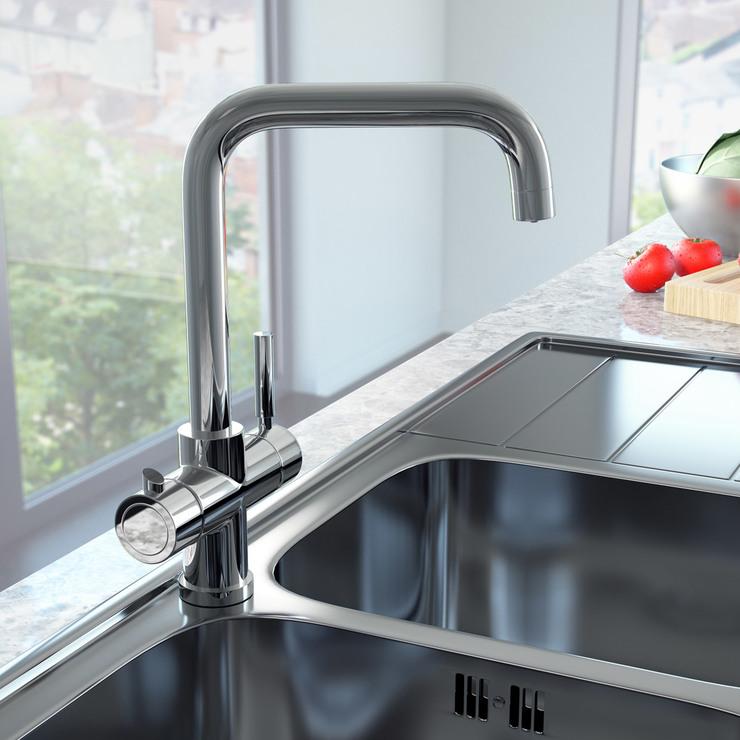 Reginox Amanzi 3 In 1 Instant Hot Water Tap In Chrome Costco Uk