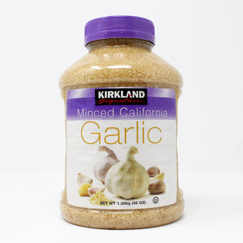 Kirkland Signature Minced California Garlic, 1.36kg