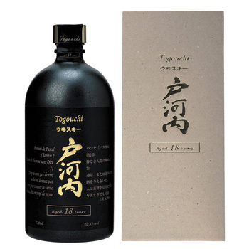 Togouchi 18 Year Old Japanese Whisky, 70cl