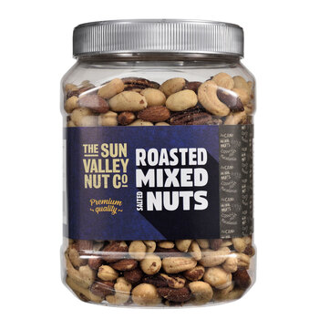 Sun Valley Roasted Mixed Nuts, 1.13kg