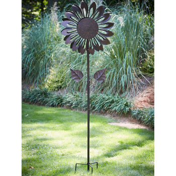 6ft 11'' (213cm) Kinetic Sunflower Wind Spinner