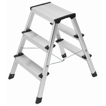 Hailo L90 3 Tread Domestic Folding Step Ladder