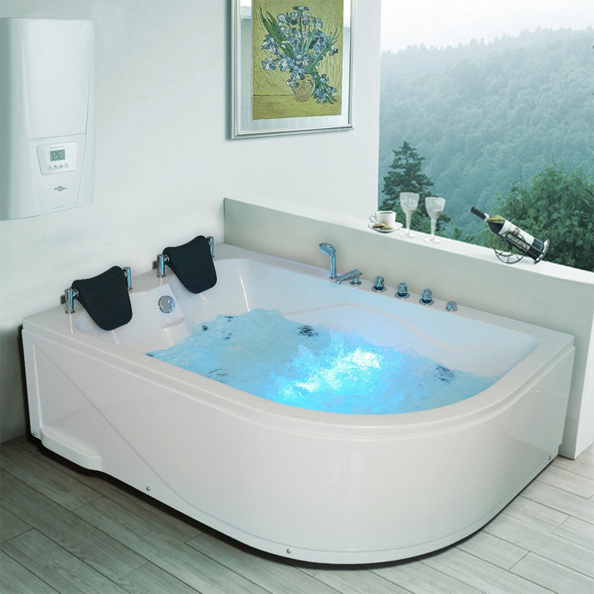 Platinum Spas Sorrento 2 Person Whirlpool Bath Tub Costco Uk
