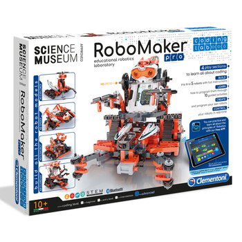 Clementoni Science Museum Approved Robomaker Pro Educational Robotics Laboratory (10+ Years)