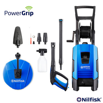Nilkfisk PG135.1-8 Powergrip Home Pressure Washer with Patio Cleaner