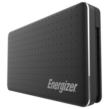 Energizer XP10002A_BK, 10000mAh Power Bank in Black