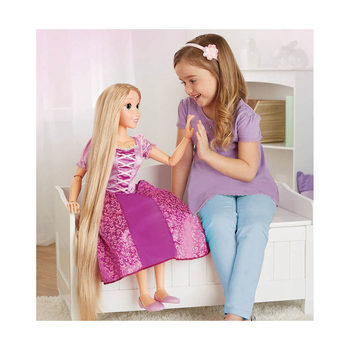 "Disney Tangled 81cm (2ft 8"") Princess Playdate Rapunzel Doll (3+ Years)"