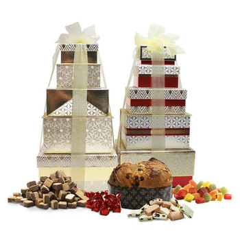 Festive Tower of Treats in 2 Designs