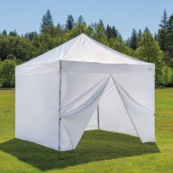 Activa 10ft x 10ft (3 x 3 m) Instant Canopy with Side Panels