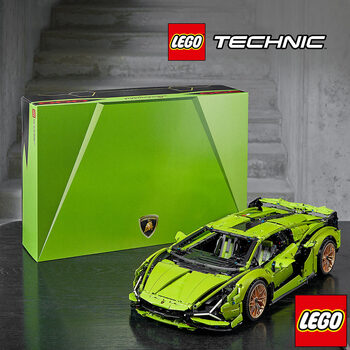 LEGO Technic Lamborghini Sián FKP 37 - Model 42115 (18+ Years)