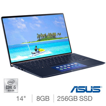 ASUS Zenbook, Intel Core i5, 8GB RAM, 256GB SSD, 14 Inch Laptop, UX434FAC-AI246T