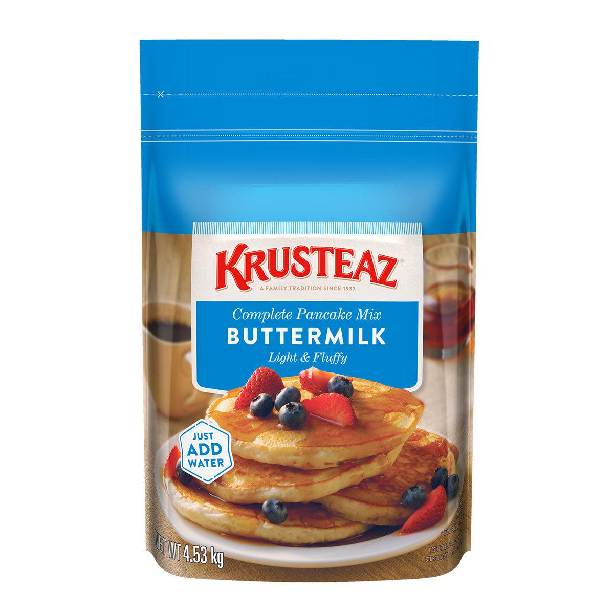 Krusteaz Buttermilk Complete Pancake Mix 4 53kg Costco Uk