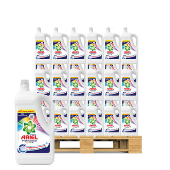 Ariel Colour Laundry Liquid, 130 Wash Pallet Deal (135 Units)