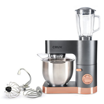 CRUX 5.5L Stand Mixer with Blender Jug CRUX004