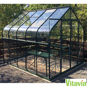 "Vitavia Colorado 8300 8ft 4"" x 10ft 6"" (2.6 x 3.2 m) Greenhouse Package"