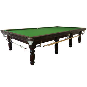 Installed MightyMast Leisure Rayleigh 12ft Full Size Slate Bed Snooker Table