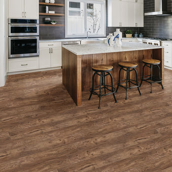 Golden Select Sterling Oak Rigid Core SPC Luxury Vinyl Flooring Planks with Foam Underlay - 1.55 m² Per Pack
