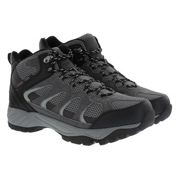 Khombu Men's Black Suede Hiking Boot in 6 Sizes