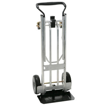 Cosco 3 in 1 Aluminium 992lb / 450kg Capacity Hand Truck with Flat-Free Wheels