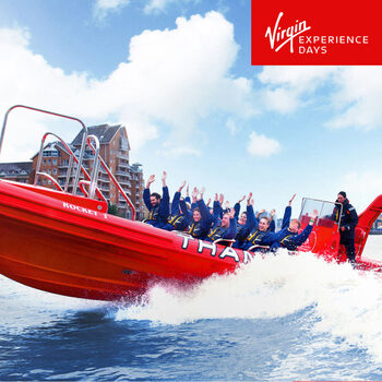Virgin Experience Days Thames Rocket Speedboat Ride for 12 People