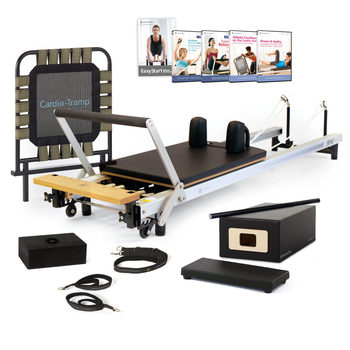 SPX® Reformer Athletic Conditioning Package with Cardio-Tramp™ Rebounder Merrithew™/STOTT PILATES®