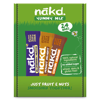 Nakd Yummy Mix Bars, 24 x 35g