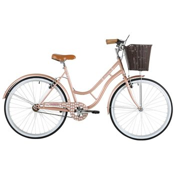 "Barracuda 19"" (48.3cm) Lacerta Heritage Bike Single Speed in Rose Gold"