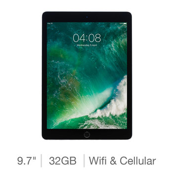 Apple 2018 iPad 32GB with Built-in WiFi and Cellular