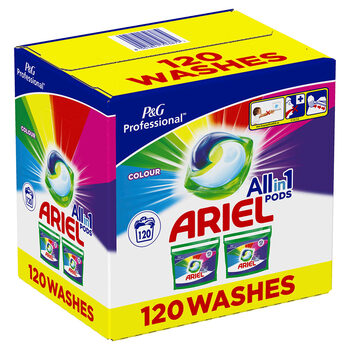 Ariel All in One Colour Pods, 120 Count