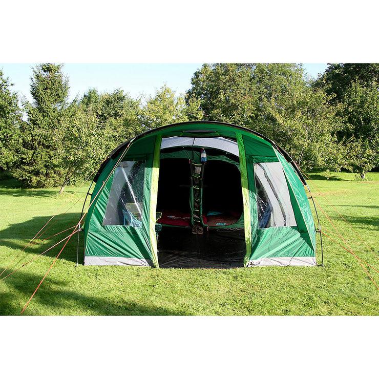 Coleman Pinto Mountain 5 Plus Family Tent With Blackout