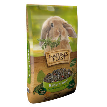 Nature's Feast Rabbit Food, 10kg