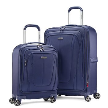 Samsonite GT Dual 2 Piece Softside Suitcase Set in 2 Colours