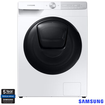 Samsung WW80T854DBH/S1, 8kg, 1400rpm, Washing Machine, A+++ Rating in White