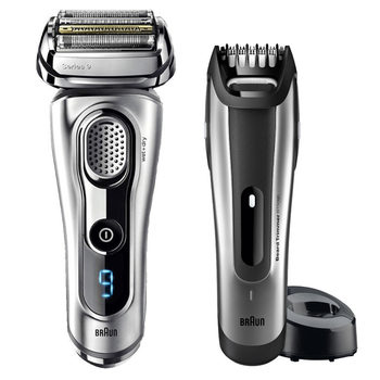 Braun Series 9 9260VS Wet & Dry Shaver With + BT5090 Beard Trimmer & Case