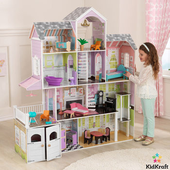 Kidkraft Grande Estate Dollhouse +26 Pieces of Furniture (3+ Years)
