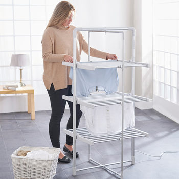 Easylife 3-Tier Heated Tower Airer and Cover