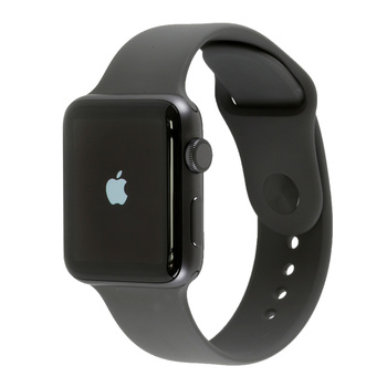Apple Watch Series 3, Space Grey Aluminium Case with Grey Sport Band, 38mm, GPS Only
