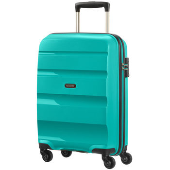 American Tourister Bon Air Carry On Spinner Case, Blue