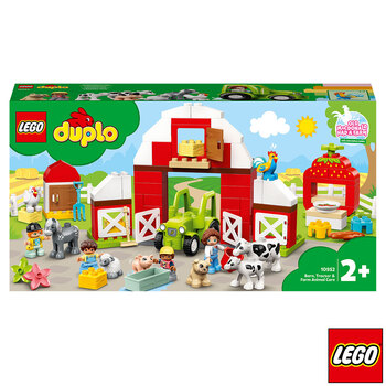 LEGO DUPLO Barn Tractor And Farm Animal Care - Model 10952 (2+ Years)