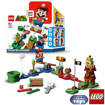 LEGO Super Mario Adventures With Mario Starter Course - Model 71360 (6+ Years)