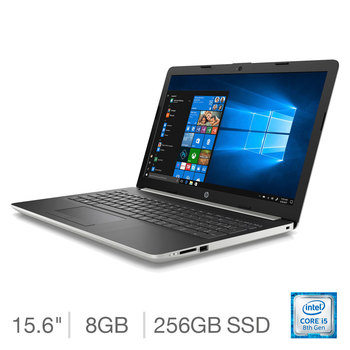 HP 15-DA1003NA, Intel Core i5, 8GB, 256GB, 15.6 inch Notebook