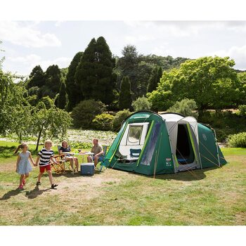 Coleman Mackenzie 4 Person Family Tent with Blackout Bedrooms